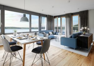 Penthouse Licht und Luxus
