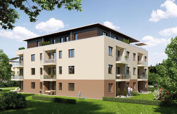 Berlin: Neubau am Tierpark 32 Wohneinheiten am Schloß Friedrichsfelde (verkauft)